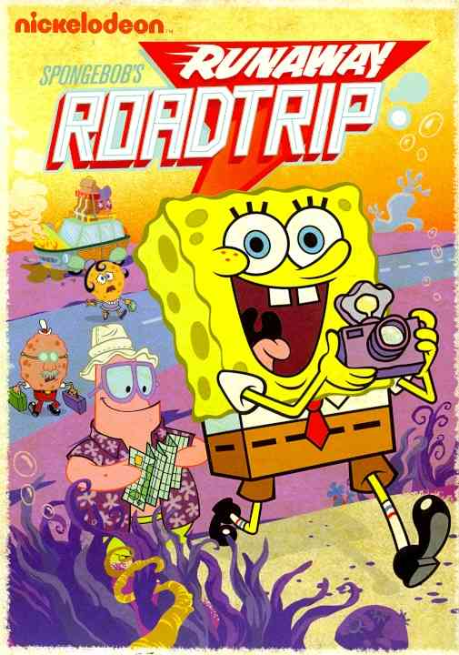 SPONGEBOB SQUAREPANTS:SPONGEBOB'S RUN BY SPONGEBOB SQUAREPANT (DVD)